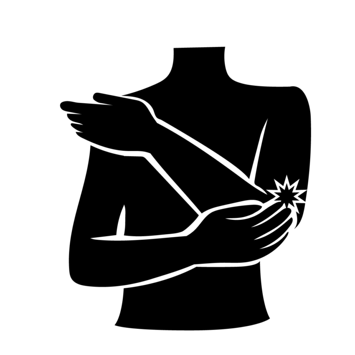 「テニス肘(上腕骨外側上顆炎)」のリハビリの画像